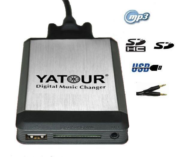 MP3 USB адаптер  TOYOTA 6+6 YT-M04